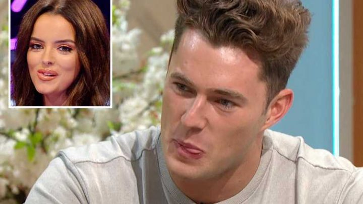 Love Island's Curtis awkwardly dodges question about dating men but insists his future is with Maura