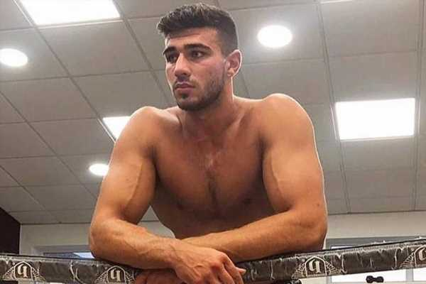 Tommy Fury accused of Photoshopping topless snap as he makes his return to the boxing ring