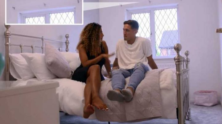 Love Island viewers mock Amber for not having any curtains in her bedroom at home – despite winning £25k