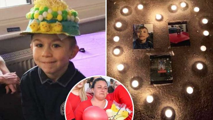 Lucas Dobson's heartbroken mum pays tribute to 'beautiful' son, 6, after he was swept away in river tragedy
