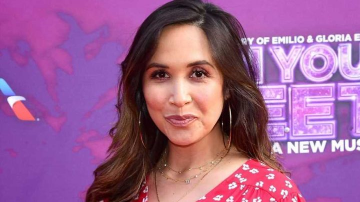 Myleene Klass announces newborn son's name is Apollo two weeks after giving birth