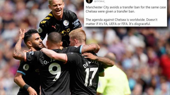 Chelsea fans fuming at 'disgraceful' Fifa as Man City dodge transfer ban for breaking rules on signing foreign kids – The Sun