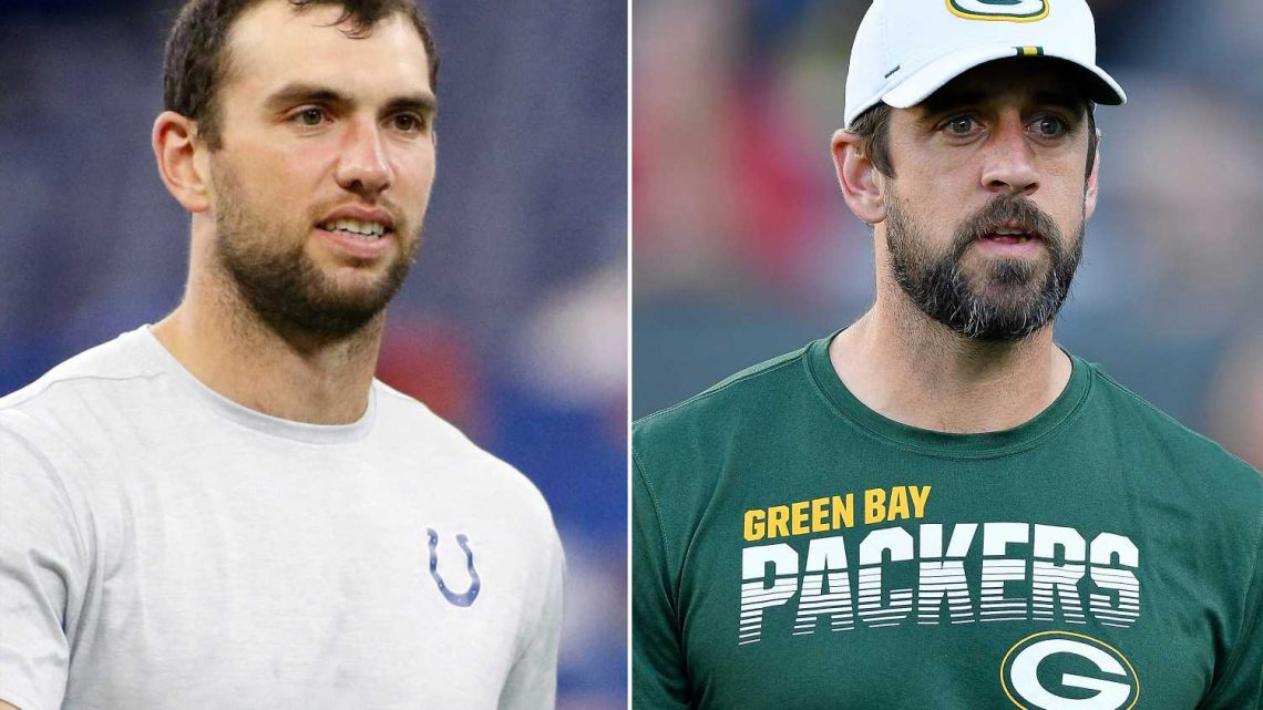 Aaron Rodgers disgusted by aftermath of Andrew Luck's retirement