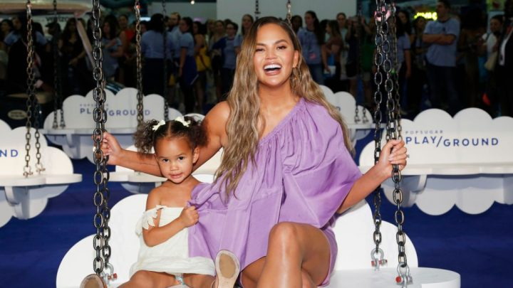 Little Luna Steals the Spotlight In Chrissy Teigen's New Quays Commercial
