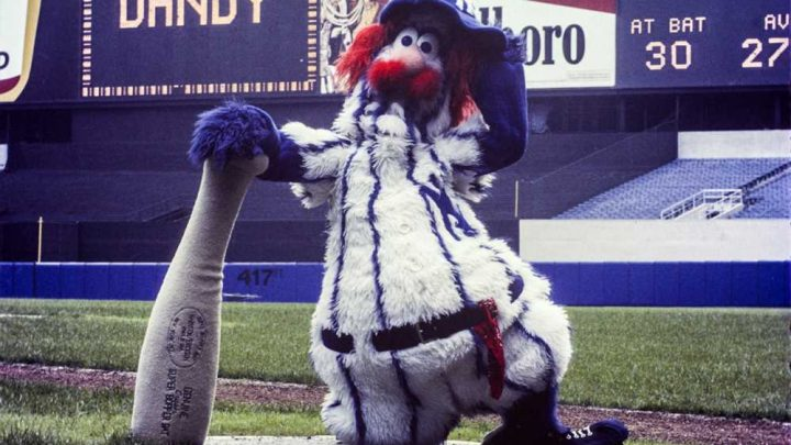 How the Yankees' first and only mascot became a total embarrassment