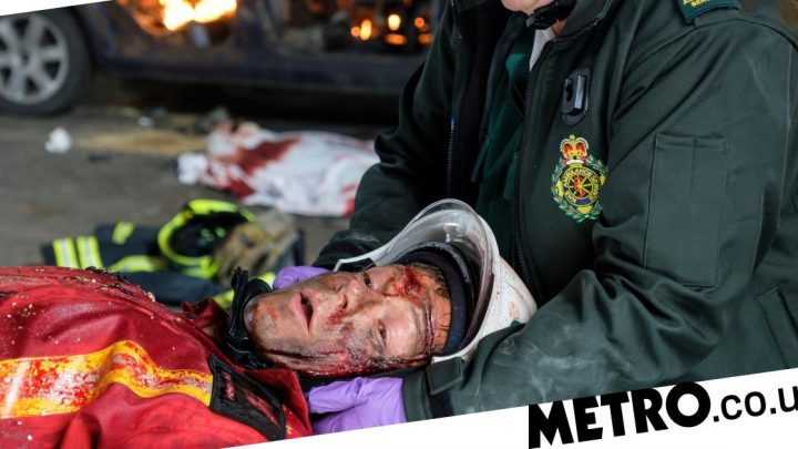 Casualty trailer reveals Ethan in death explosion and tragedy for David