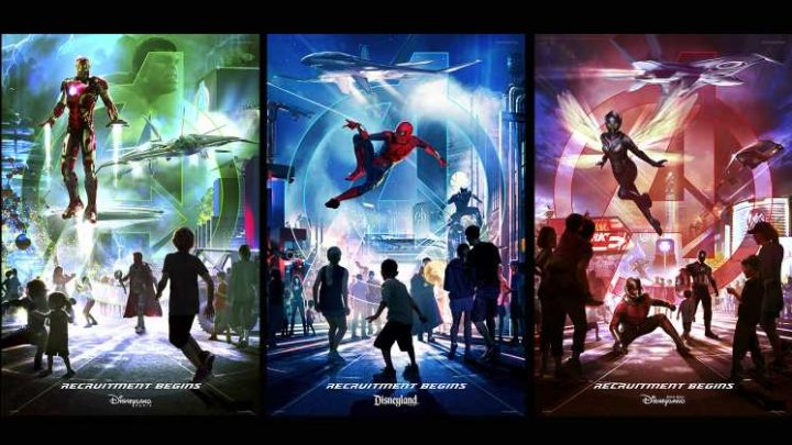 The Marvel Land at Disney California Adventure is Called Avengers Campus – Check Out New Concept Art, Models and More [D23]