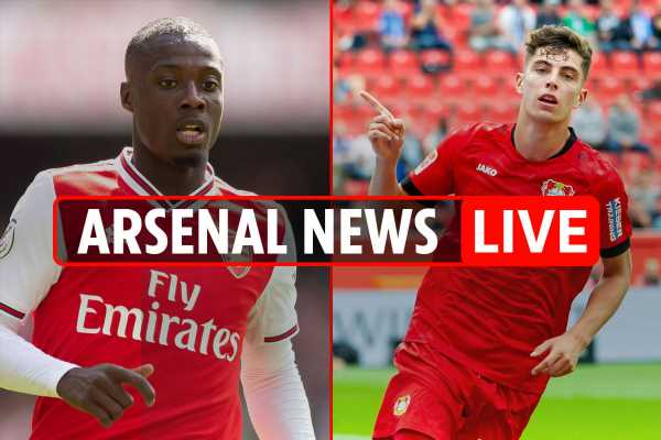 7.10pm Arsenal news LIVE: £91m Kai Havertz eyed, Pepe set for Anfield start, Ronaldo nearly joined, Rugani to Roma – The Sun