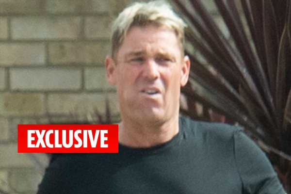 Shane Warne has four-way romp with lover and two sex workers that woke neighbours – The Sun