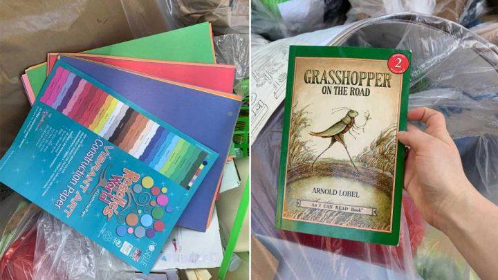 'Zero waste' Upper West Side public school caught dumping more classroom supplies