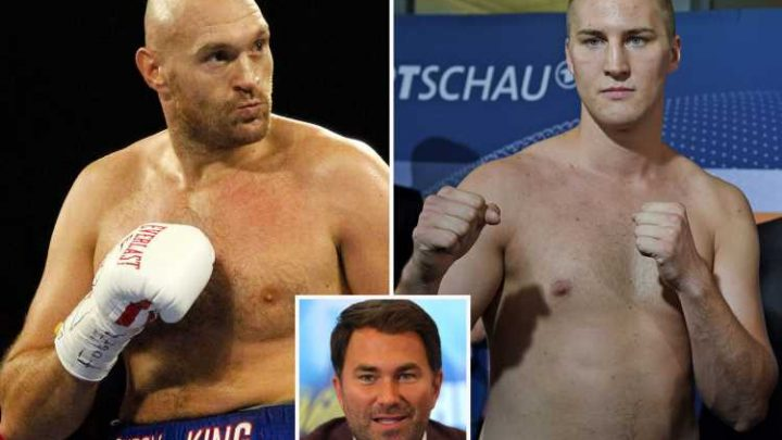 Hearn says he 'wouldn't make his worst enemy watch Fury vs Wallin' as he hits out at rival promoter – The Sun
