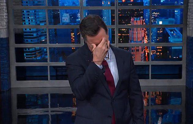 Despondent Stephen Colbert Begs Obama 'Please Come Back'