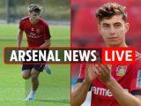 1pm Arsenal news LIVE: Mustafi LATEST, £91m Kai Havertz eyed, Tierney return date revealed, Pepe set for Liverpool start – The Sun