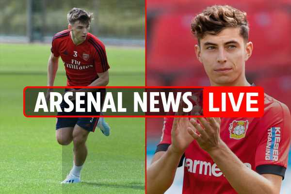 1pm Arsenal news LIVE: Mustafi LATEST, £91m Kai Havertz eyed, Tierney return date revealed, Pepe set for Liverpool start – The Sun