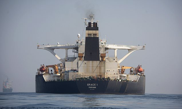 US issues warrant for seizure of Iranian tanker