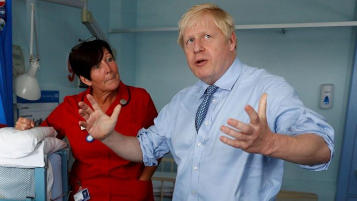 Boris Johnson again demands EU re-open negotiations
