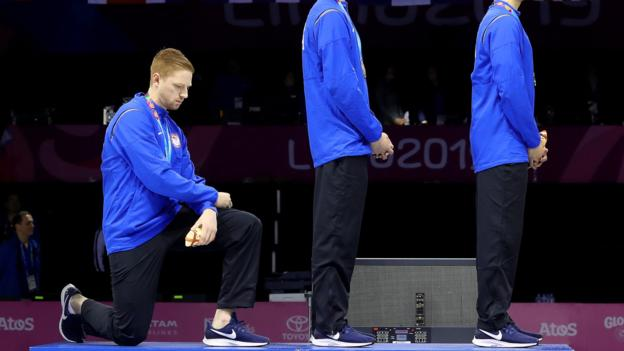 Tokyo 2020 Olympics: US athletes warned they will face 'consequences' over protests