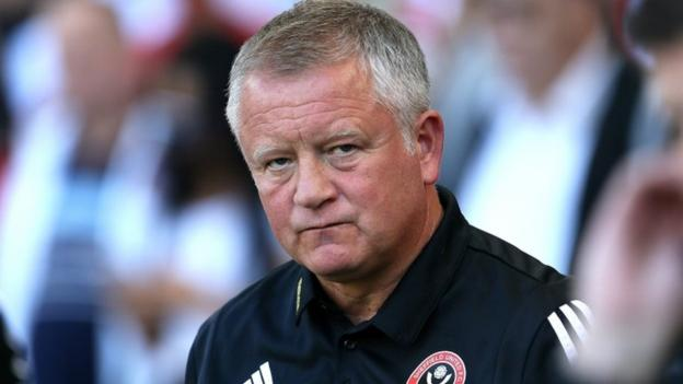 Sheffield United boss Chris Wilder bemoans display in defeat by Leicester