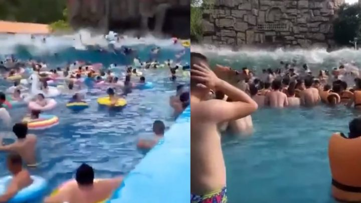 Wave Pool Transforms Into Tsunami Pool, Injures Over 40 People