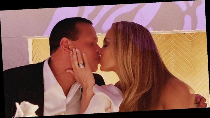 Inside Jennifer Lopez and Alex Rodriguez's engagement party with daughters
