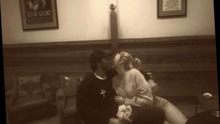 Brody Jenner's Girlfriend Josie Canseco Calls Herself 'Lucky' as She Posts Couple's Kissing Photo
