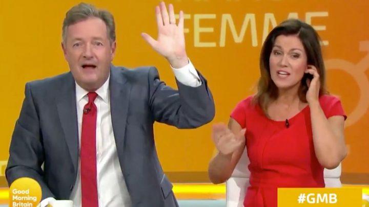 Emmerdale actor brands Piers Morgan 'transphobic' after GMB penguin rant