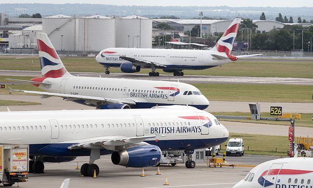 British Airways pilots to be stripped of travel perks if they strike