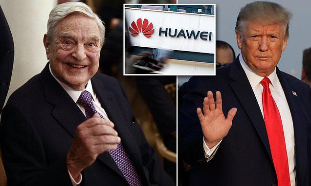 Liberal billionaire George Soros praises Trump for sanctioning Huawei