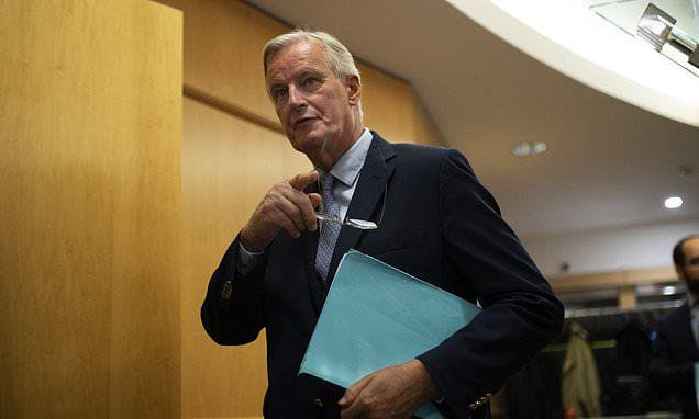 EU's Michel Barnier swipes he is still waiting for 'concrete' plans