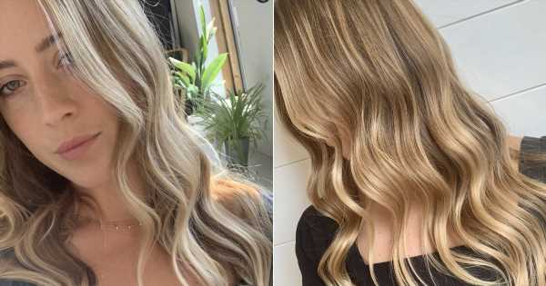 """""""Wheat Blond"""" Hair Color Is the Low-Maintenance Way to Do Balayage This Fall"""