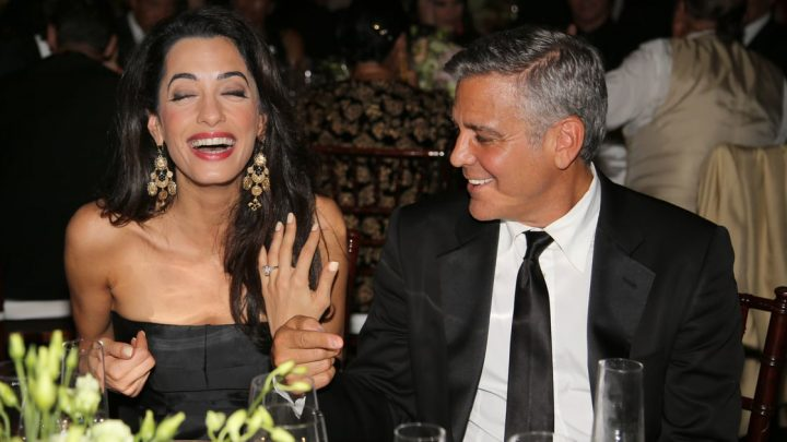 Amal Clooney's Emerald-Cut Engagement Ring Is a 7-Carat Dream