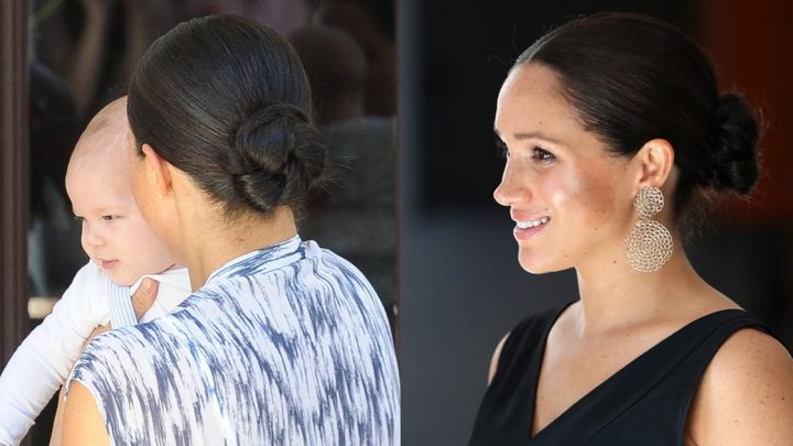 Meghan Markle Just Reinvented Her Signature Bun in a Way She's Never Done Before