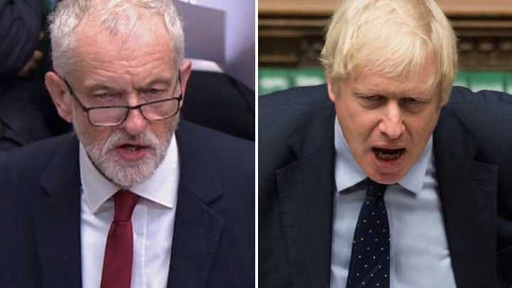 Cowardly Jeremy Corbyn bottles Boris' election challenge ahead of crunch No Deal Brexit votes despite begging for one for months