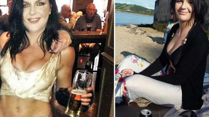 Binge-drinking mum, 26, whose four-month-old son died after she took him clubbing then fell asleep on top of him walks free
