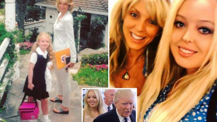 Donald Trump's daughter Tiffany gets full support from 'proud' mum Marla Maples after president denied being embarrassed by her weight – The Sun