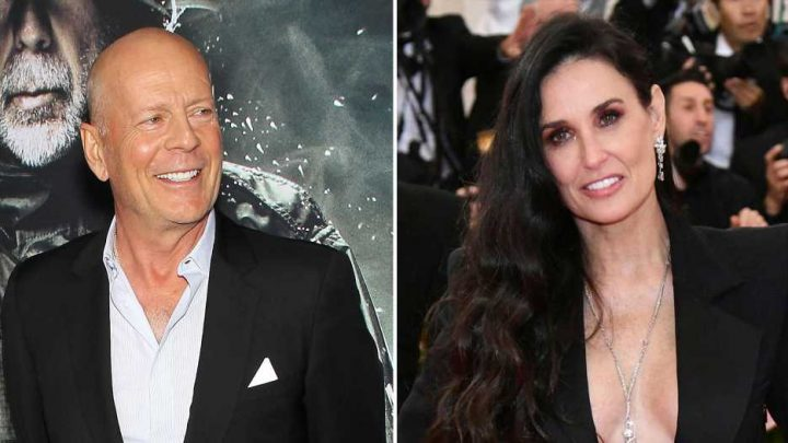 Bruce Willis Supports Ex Demi Moore at Launch for Shocking New Memoir