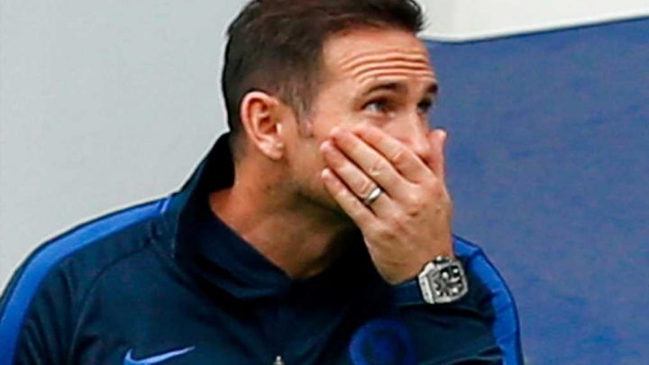 Frank Lampard defends Chelsea's youngest ever Prem team after throwing away win – The Sun