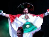 Tyson Fury enters ring with bizarre Mexican theme including sombrero, poncho and Mariachi band ahead of Otto Wallin bout – The Sun