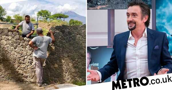 The Grand Tour fans are blaming Richard Hammond for Pompeii wreckage