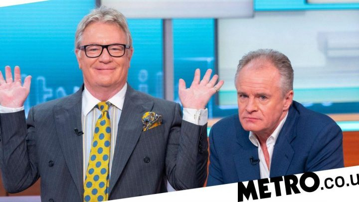 Bobby Davro 'struggles' through TV interview after 'drinking until 3am'