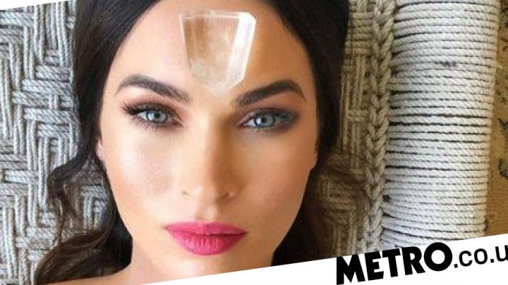 Megan Fox casually 'cleanses demons' using crystals