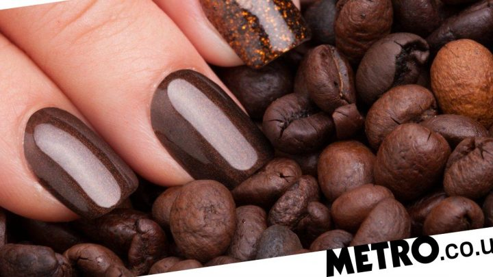 This nail varnish smells like coffee and changes colour with your mood