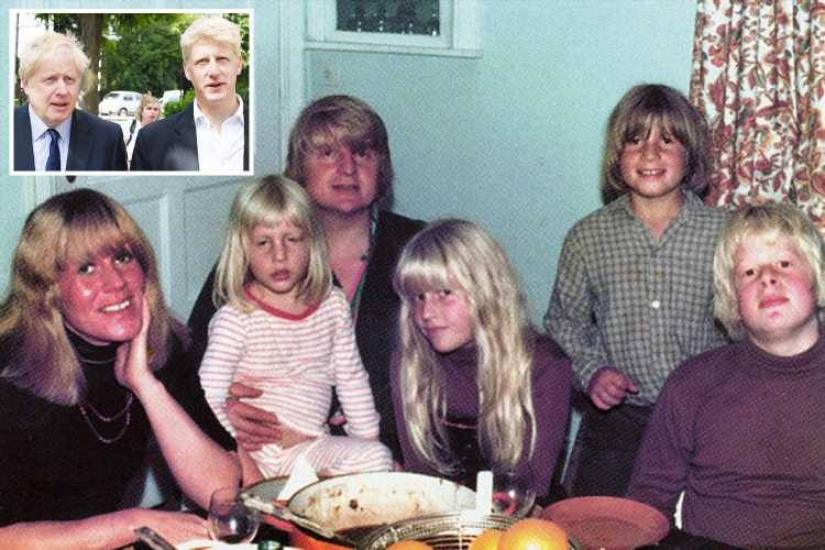 Johnson family 1970s photo album shows Boris and Jo long before Brexit sparked split – The Sun