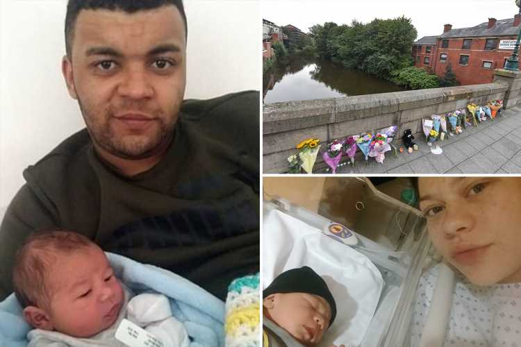 Dad, 22, charged with murder of 11-month-old son 'thrown off bridge into river'