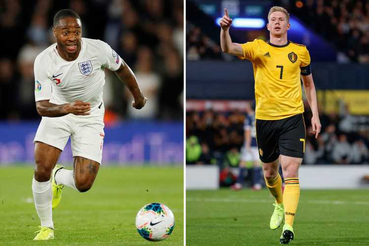 Raheem Sterling matches Man City pal De Bruyne with hat-trick of first-half assists in England's clash with Kosovo – The Sun