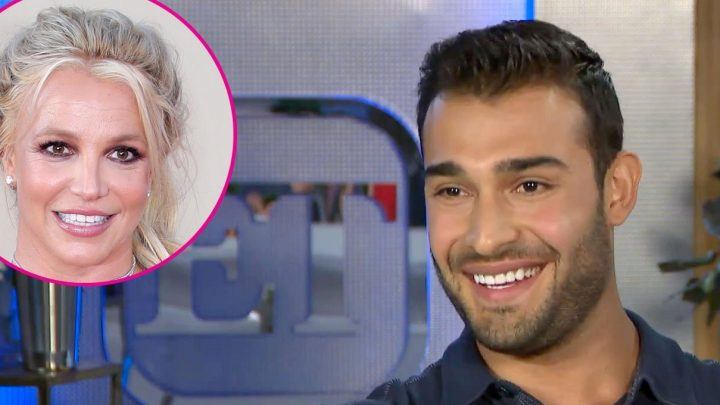 Britney Spears' BF Sam Asghari Reflects on Relationship in 1st TV Interview
