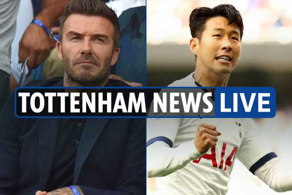 10.30am Tottenham news LIVE: Beckham 'wishes he was playing for Spurs', Palace reaction, Levy offers Eriksen £60m new deal – The Sun