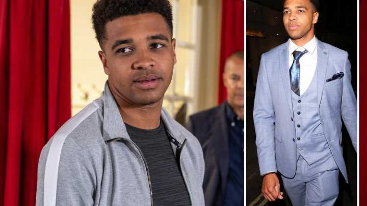 Emmerdale fans beg soap bosses to re-cast Ellis Chapman with a new actor after Asan N'Jie is sacked for threatening to kill Jamie Lomas
