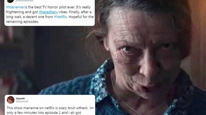 Netflix fans left terrified by new horror series Marianne after binging on Friday the 13th