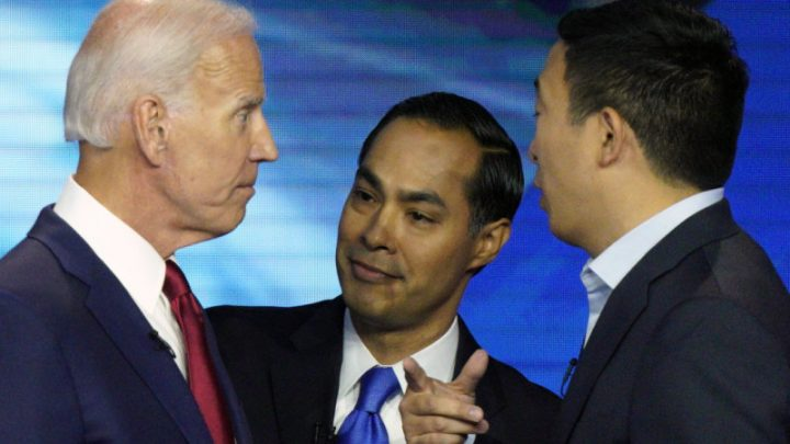 Democratic presidential race: who's risen to the top and who's dropped out